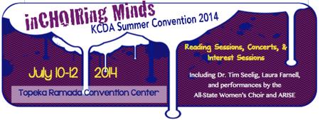 2014 Kansas Choral Directors Association Summer...