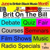 logo Reggae Film, Music & Fun   British Black Music/BMC in association with Flash Musicals