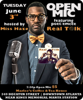 First Tuesday Open Mic Hosted by Miss Haze