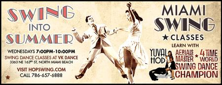 Free Beginner Swing Lesson ★ Wednesday June 4