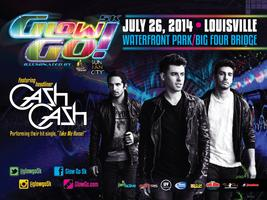 Glow Go 5K Official Party with CASH CASH