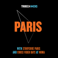 Tribeca Hacks Paris avec Storycode Paris et Cross Video...