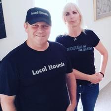 Medium in the Raw and Local Haunts logo