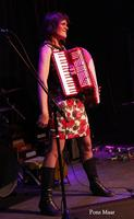 Solo accordionist Jetty Swart plays vintage favorites a...