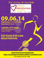 2nd Annual Run/Walk Shawnee County Suicide Prevention...