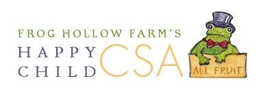 Frog Hollow CSA 3rd Annual Summer Pick and Jam