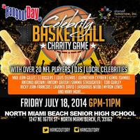 3rd Annual Hangout Day® Celebrity Charity Basketball...