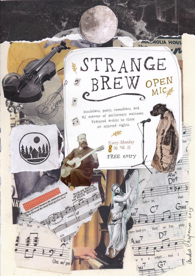 Strange Brew Open Mic Night
