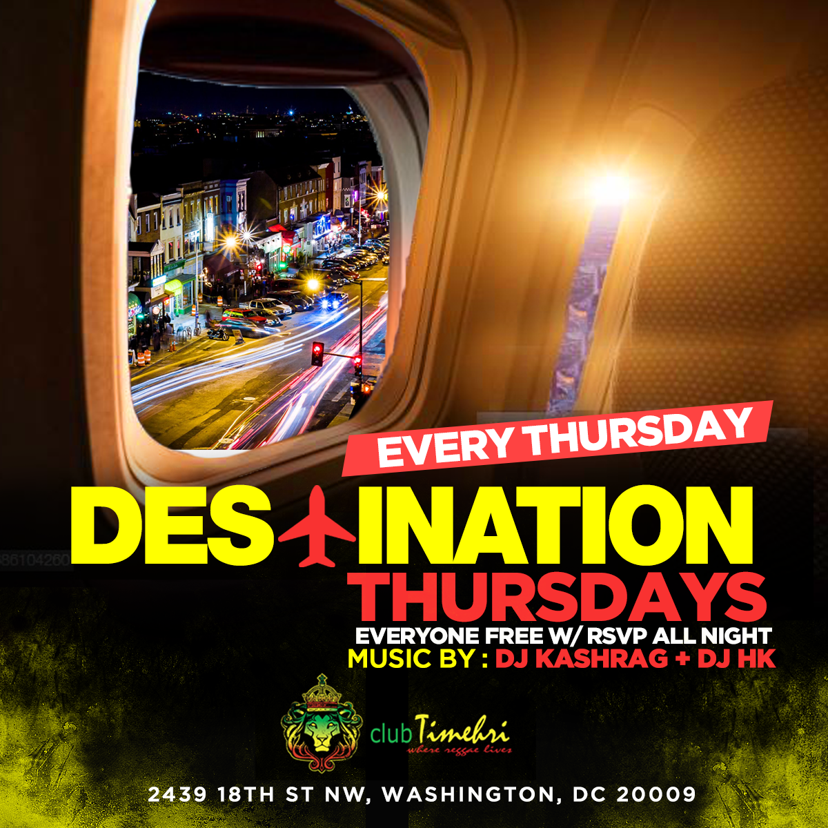 #DestinationTHURSDAYS - International Sounds | reggae, afrobeats, soca, dancehall
