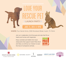 Love Your Rescue Pet Day Launch Party