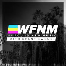 WE FOUND NEW MUSIC logo