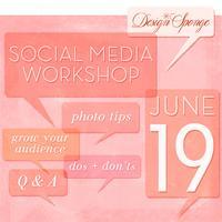 Design*Sponge Social Media Workshop
