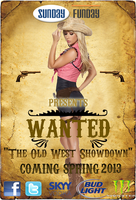"Sunday Funday presents ""WANTED""- The Old West Showdown"