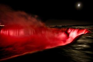 Niagara Falls, Canada Posing and Shooting Photography...