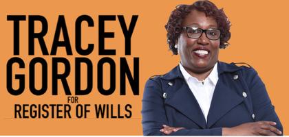 Tracey Gordon for Register of Wills