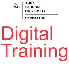 Digital Training Adobe Courses (York St John University) logo