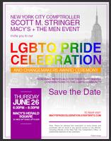 Macy's Pride NYC 2014