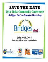 2014 Links Community Conference-Bridges Out of Poverty...
