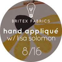 Hand Appliqué Workshop with Lisa Solomon
