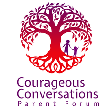 Courageous Conversations Parent Forum presented by The One A Day Project logo