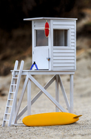 Lifeguard Tower Art Raffle sponsored by Surfline
