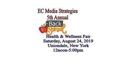 EC Media 5th Annual Back-To-School Health and Wellness Fair 2019