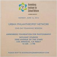 Urban Philanthropist Network One-Day Planning Session-...