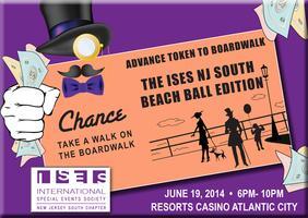 """2nd Annual Beach Ball """"CHANCE: Take a Walk on the..."""