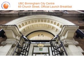 Birmingham City UBC Breakfast Launch