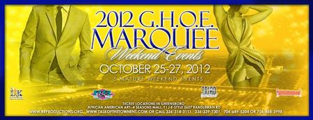 GHOE 2012 MARQUEE HOMECOMING EVENTS w/ TalkoftheTown,...
