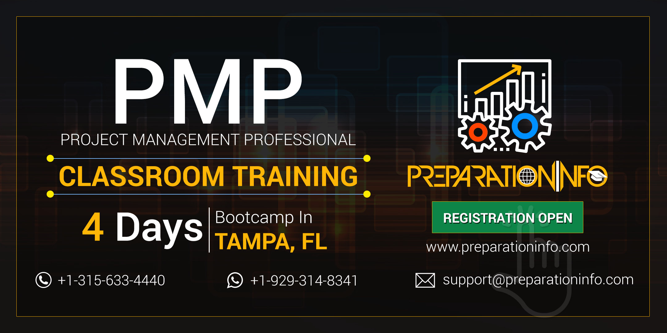 Exclusive PMP Certification and Training Program in Tampa, FL
