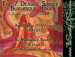 7 Deadly Sinners Burlesque Hour: A Fundraiser for The...