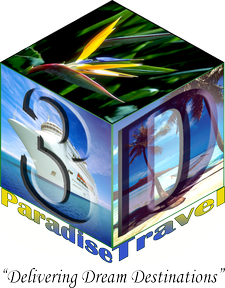 3D Paradise Travel, LLC logo