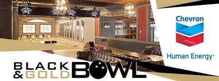 Black & Gold Bowl