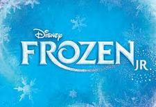 North Canton Playhouse Frozen Jr.  logo