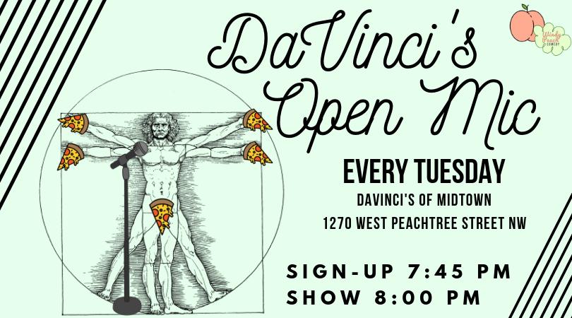 DaVinci's Open Mic