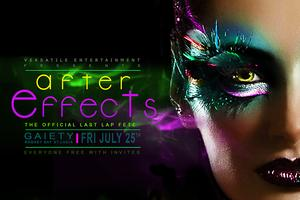 AFTER EFFECTS THE OFFICIAL LAST LAP FETE