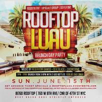 ROOFTOP LUAU Brunch Day Party