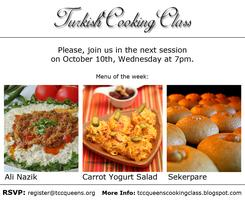 TURKISH COOKING CLASS SESSION 2