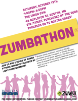 Zumbathon to Support Boston Cares
