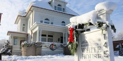 Barrington's White House Holiday Open House