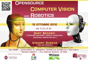 Opensource Computer Vision and Robotics