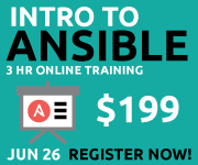 Online Training: Introduction to Ansible - 3 hours