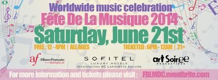 FETE DE LA MUSIQUE DC - A summer solstice music...