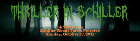 Thriller in Schiller 5k Trail Race