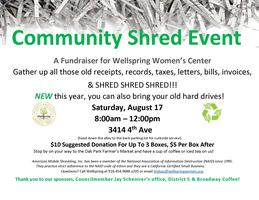 Community Shred Event Tickets, Sat, Aug 17, 2019 at 8:00 AM | Eventbrite