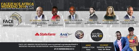 Face2Face Africa Weekend 2014: Package Registration