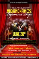"Magazine Madness ""Paparazzi Style"" A Red & Black Affair"