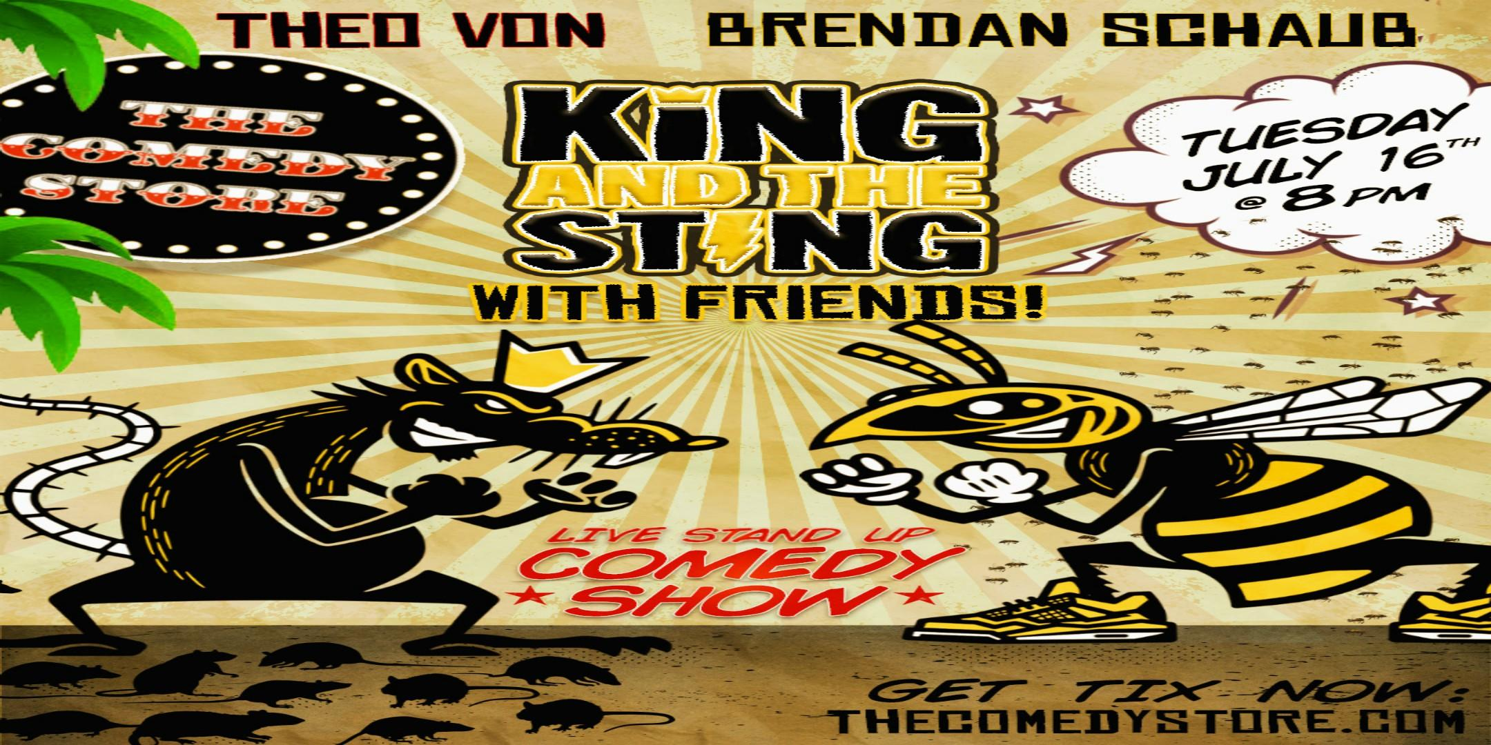 King & The Sting - Stand up Show