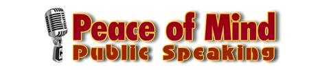 Public Speaking Peace of Mind Teleseminar - proceeds...
